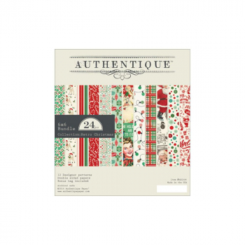 Authentique Paper - Retro Christmas Paper Pad 6x6