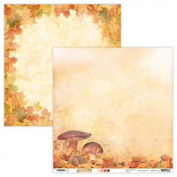 Studio Light Scrapbookingpapier Wonderful Autumn Nr. 91 12x12""