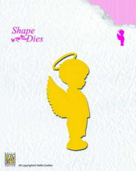 Nellies Choice - Stanzschablone Angel Boy Shape Die