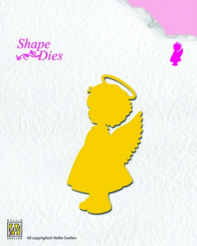 Nellies Choice - Stanzschablone Angel Girl Shape Die