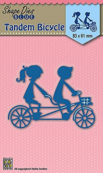 Nellie's Choice Stanzschablone Tandem Bicycle