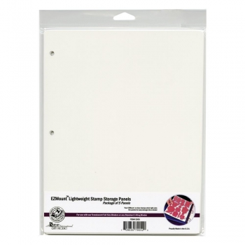 "Crafter's Companion - EZMount Lightweight Stamp Storage Panels 8.5x11.0"" 5 Stück"