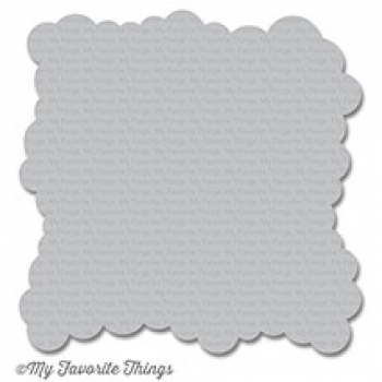 My Favorite Things - Kunststoffschablone Stencil Mini Cloud Edges
