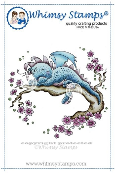 Whimsy Stamps - Cling Stamp Dreamy Dragon