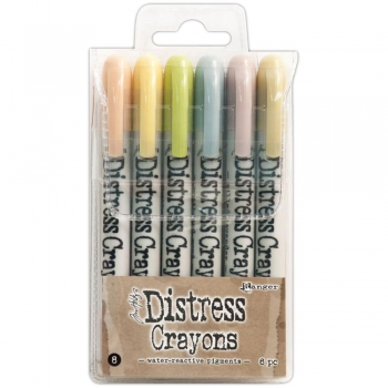 Ranger - Tim Holtz Distress Crayons Set #8