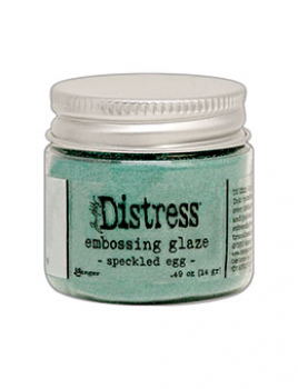 Ranger Distress Embossing Glaze Speckled Egg