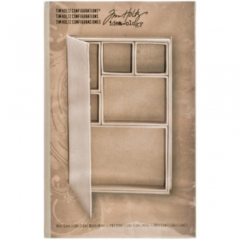 Tim Holtz - Idea-ology Configurations Chipboard Shadow Box Book - PRE-ORDER