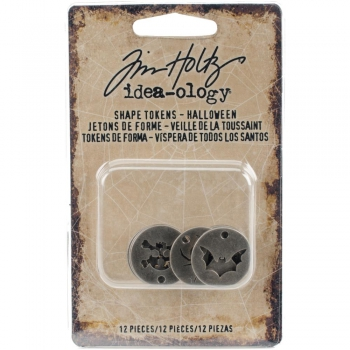 Tim Holtz - Idea-ology Halloween Shape Tokens
