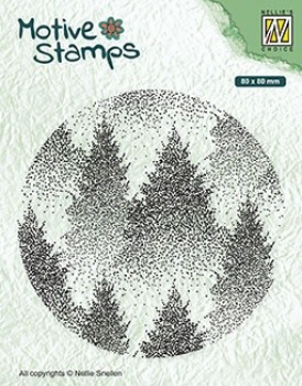 Nellie's Choice Clearstempel Misty Forest 8.0cm