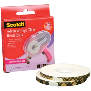 Scotch - Advanced Tape Glider Refill Rolls 6.3mmx32.9m