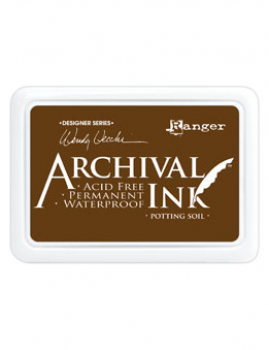 Ranger - Archival Ink Stempelkissen Potting Soil