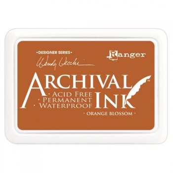 Ranger - Wendy Vecchi Archival Ink Stempelkissen Orange Blossom