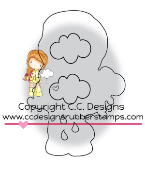 C.C. Designs - Cutter Little Cloudy Outline Die