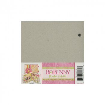 Brown Bo Bunny Scrapbooking Albums & Refills 6 x 6 Size