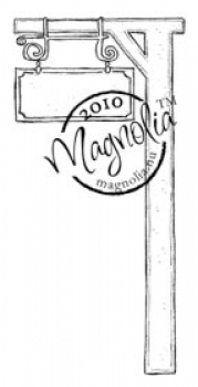 Magnolia - Clingstempel Bon Voyage Collection Cling Stamp Travel Sign
