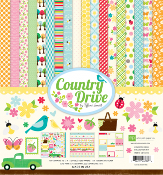 Echo Park Paper - Country Drive Collection Kit 12x12""