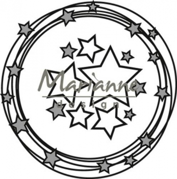 Marianne Design Stanzschablonenset Craftable Circle & Stars