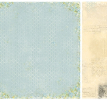 "Pion Design - Forget Me Not - Correspondence - 12"" x 12"""