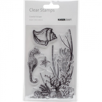 Kaisercraft - Clear Stamps Coastal Escape 6x4""