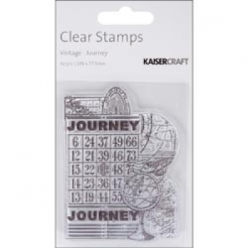 Kaisercraft - Clearstempel Vintage Journey