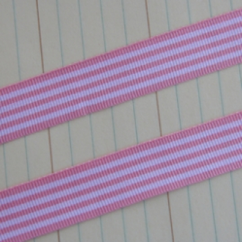 Maya Road - Candy Stripes Ribbon - Pink