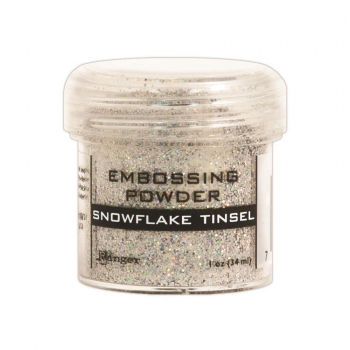 Ranger - Embossing Powder Snowflake Tinsel