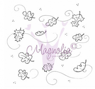 Magnolia Halloween & Autumn Collection Clingstempel Fall Background