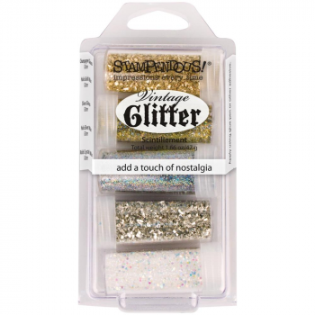 Stampendous - Embossingpulver Treasures Frantage Glitter Kit Antique