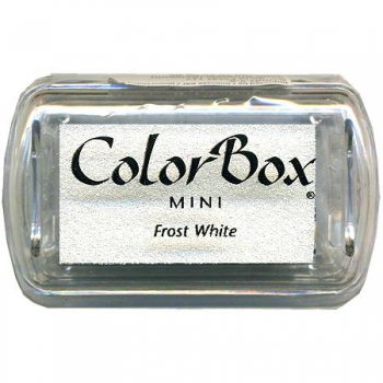 Clearsnap - ColorBox Mini Pigment Inkpad Frost White