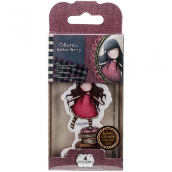 Docrafts - Santoro Gorjuss Mini Rubber Stamp New Heights