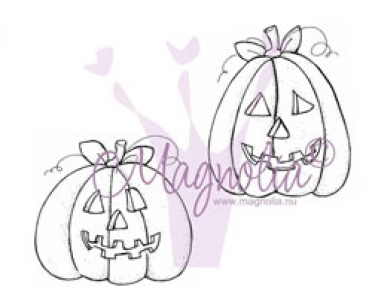 Magnolia - Halloween & Autumn Collection Cling Stamps Halloween Pumpkins