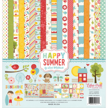 Echo Park Paper - Happy Summer Collection Kit 12x12""