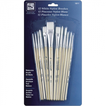 Loew-Cornell Inc. - Pinsel Set Nylon 12-teilig
