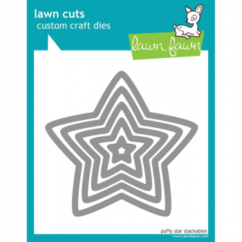Lawn Fawn Stanzschablonenset Puffy Stars Craft Dies