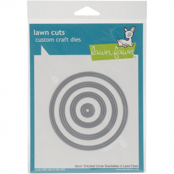 Lawn Fawn - Lawn Cuts Small Stitched Circle Dies