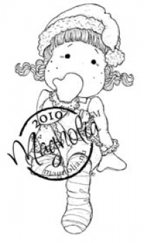 Magnolia - Clingstempel Merry Little Christmas Cling Stamp Jolly Tilda