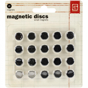 BasicGrey - Magnetknöpfe Small Magnetic Discs