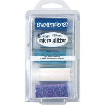 Stampendous - Frantage Micro Glitter Kit Winter
