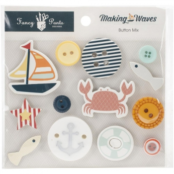 Fancy Pants Designs - Making Waves Button Mix