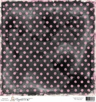 Magnolia - Apples & Cherries 50's Pink Dot 12x12""