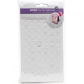Multicraft - Jumbo Pop Dots 3D Round Adhesives 10mm - 60 Stück