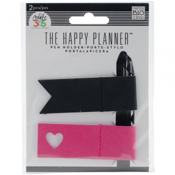 Create 365 Happy Planner Pink & Black Pen Holder