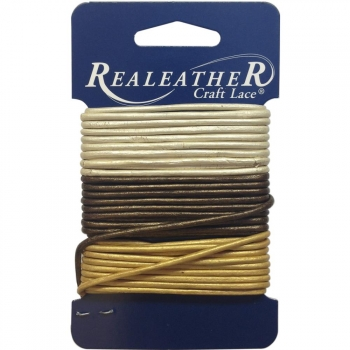 Realeather Crafts - Round Leather Lace 2 mm