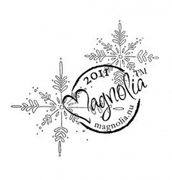 Magnolia Clingstempelset Sweet Christmas Dreams Cling Stamps Sweet Snowflakes
