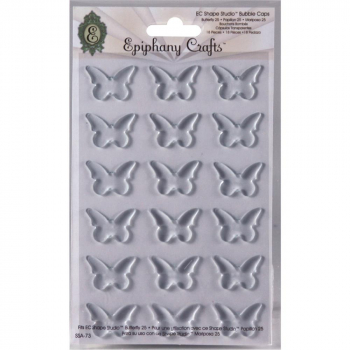 Epiphany Crafts - Clear Bubble Caps Butterfly