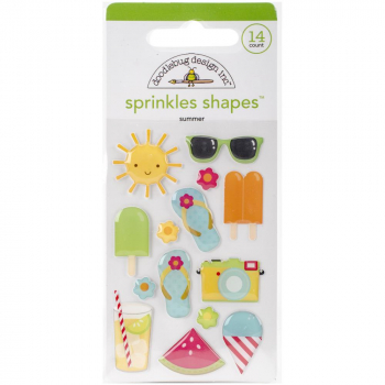 Doodlebug Design - Sunkissed Sprinkles Summer Shapes