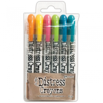 Ranger - Tim Holtz Distress Crayons Set #1