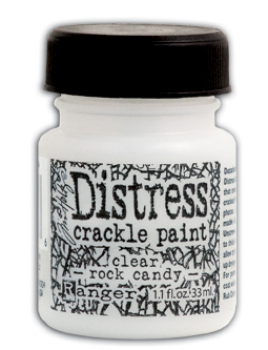 Ranger - Distress Crackle Paint Clear Rock Candy 33ml