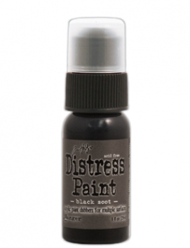 Ranger - Tim Holtz Distress Paint Black Soot
