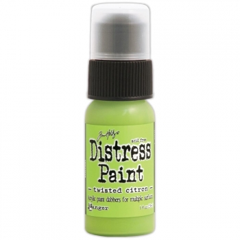 Ranger - Tim Holtz Distress Paint Twisted Citron